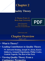 Quality Theory