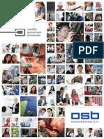 OSB AG - Engineering und IT - Unternehmensbroschüre
