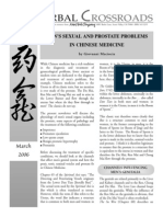 March06 Mens Sexual and Prostate Problems in Chinese Medicine