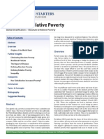Absolute & Relative Poverty