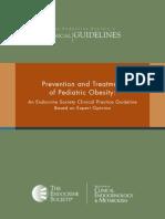 FINAL Standalone Pediatric Obesity Guideline
