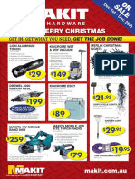 Makit Hardware Christmas Catalogue