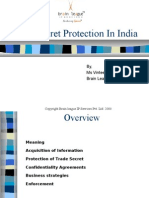 Trade Secret Protection in India