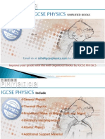Igcse Physics simplified revision books