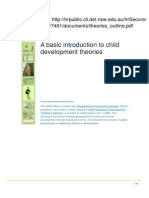 Introduction to Child Development Theories