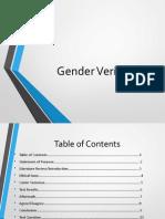 gender testing
