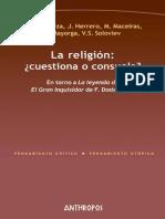AAVV. La religión ¿Consuela o cuestiona¿