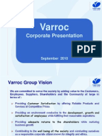 Varroc Corporate OverView