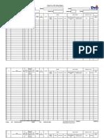 SF 1 Spreadsheet