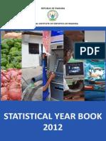 Rwanda Statistical YearBook 2012