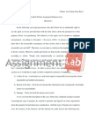Individual Written Assignment Business Law