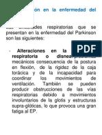 Parkinson Respiracion