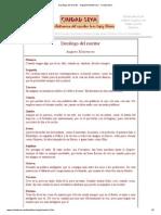 Decalogo Del Escritor - Augusto Monterro - Ciudad Seva
