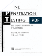 Cone Penetration Testing
