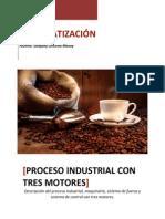 Proceso Industrial Con Tres Motores