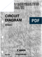 CANON GP405 Circuit Diagram