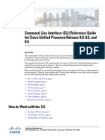 Command Line Interface Reference Guide for Cisco Unified Presence 8.6