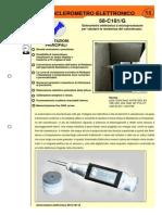 Electronic Concrete Test Hammer 58 c0181 g Ita