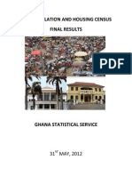 2010 Population And Housing Census, Ghana