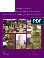 Guidance for Best Practice for Treatment of Human Remains Excavated