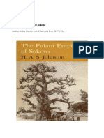 Fulani Empire if Sokoto by h. a. s. Johnston