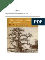 Fulani Empire if Sokoto by h. a. s. Johnston