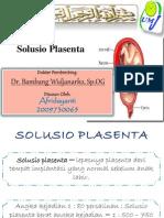Slide Solusio Plasenta