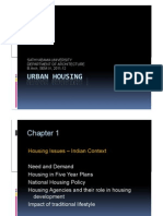 Housing policies in Five Year Plans of India