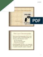 Pharm-Thin Layer Chromatography