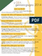 Programma GEA 2014