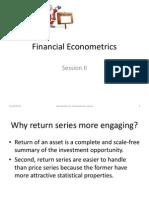 Financial Econometrics-II 2013