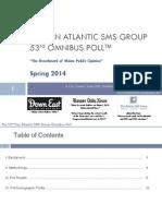 Pan Atlantic SMS Spring Omnibus Poll