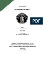 Lapsus Pansinusitis