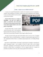 Black Friday în mediul online - adaptat sau nu realităţii româneşti - Tataru Oana, grupa 351