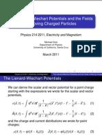 214 Lienard-Weichart Lecture