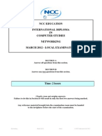Networking Exam Paper March 2012 - Final