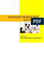 Tutorial MS Project 2007