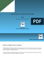 CAME. Argentina 2014, En El Contexto Regional y Mundial