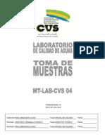 MT-LAB-CVS 04 Toma de Muestras V4