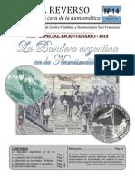 Boletin Numismático todo sobre Bandera Argentina SOL y sus formas etc pag 14