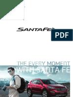 Brochure Hyundai SantaFE new
