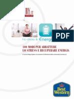 100 modi per abbattere lo stress e recuperare energia