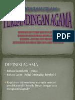 Topik 15- Perbandingan Agama