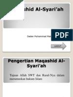 Maqashid Al-Syar'iyah
