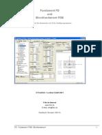 Fundament FD und Blockfundament FDB