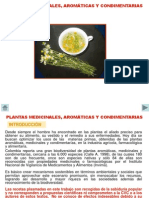 Usos de Plantas Medicinales Aromc3a1ticas y Condimentarias