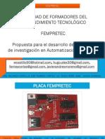 Especificaciones Tarjeta Fempretc