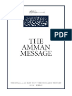 One World Religion Agenda- Amman Message