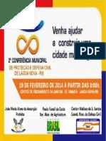 Convite Defesa Civil