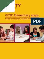 GESE Elementary Steps - Guide for Teachers